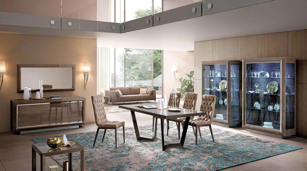 Contemporary Large Dining Table
