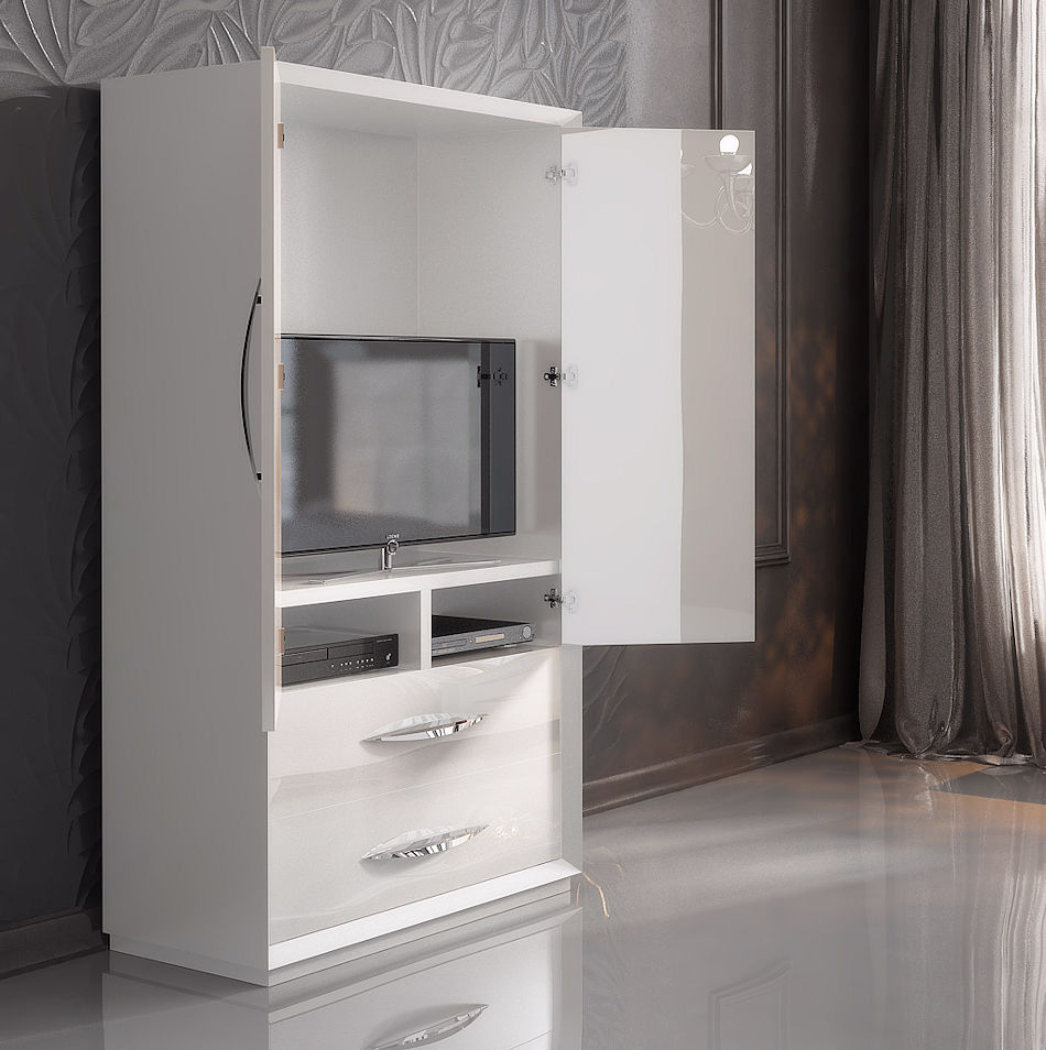 Contemporary TV Armoire