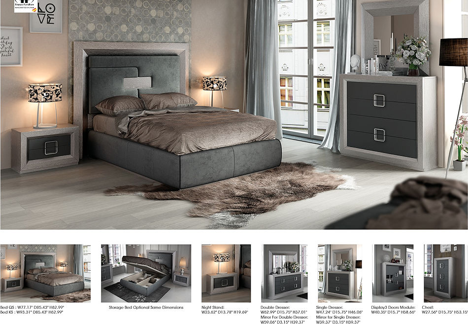 Contemporary Bedroom Set