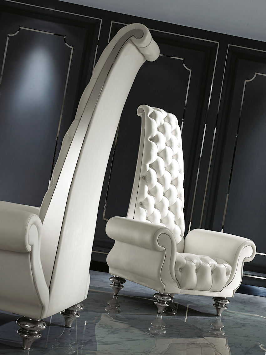 Contemporary High Back Chairs