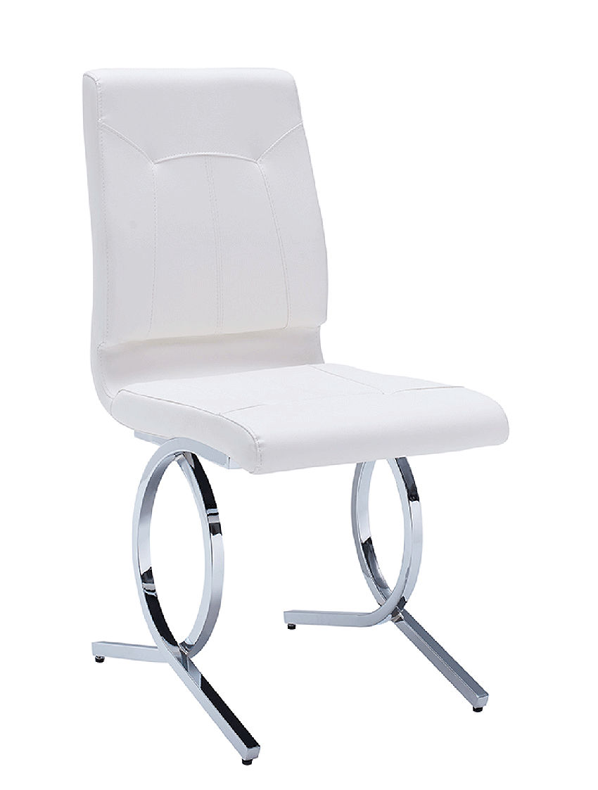 Contemporary Dining Chair White