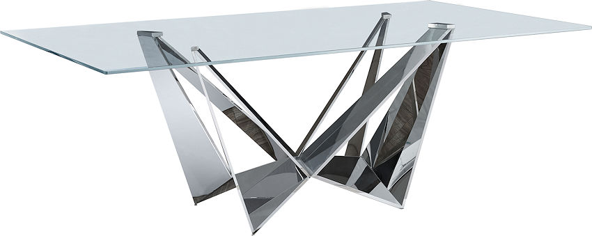 Stainless Steel Dining Table