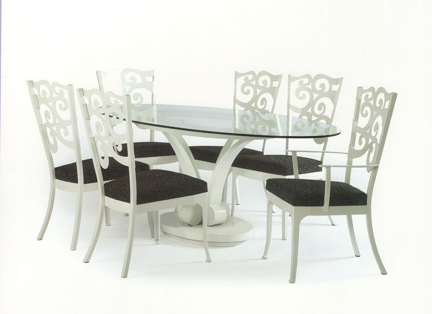 Francesca Oval Dining Table