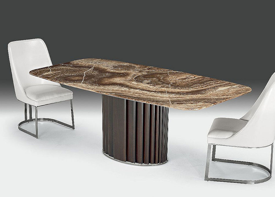Contemporary Stone Dining Table