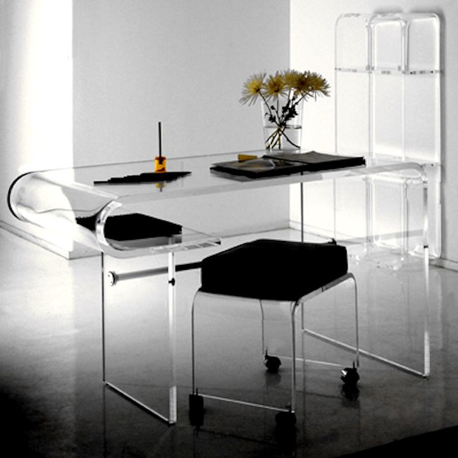 Contemporary Acrylic Desk