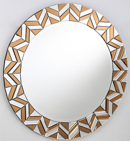 Contemporary Round Mirror