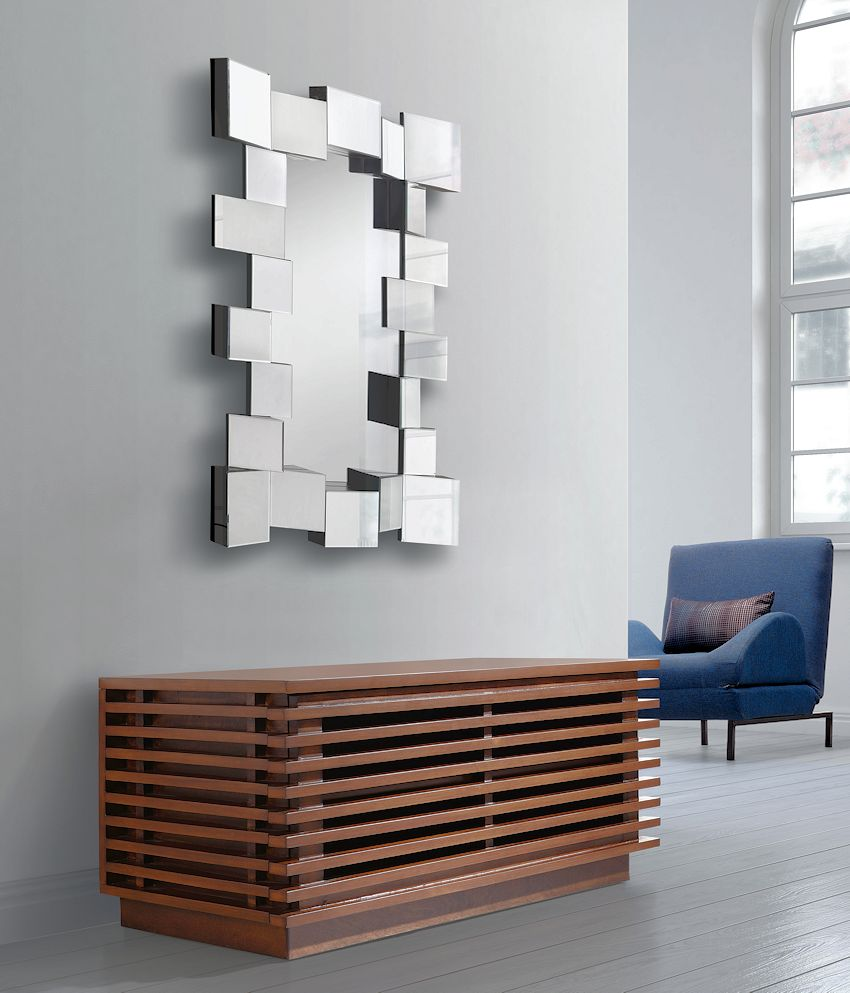 Modern Rectangular Mirror