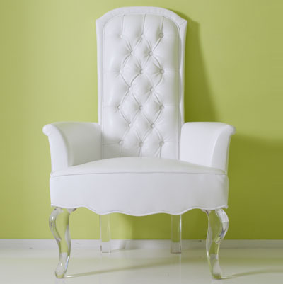 Contemporary High Back Chair