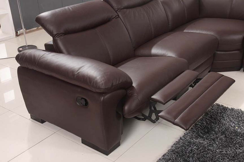 Contemporary Recliner Sectional