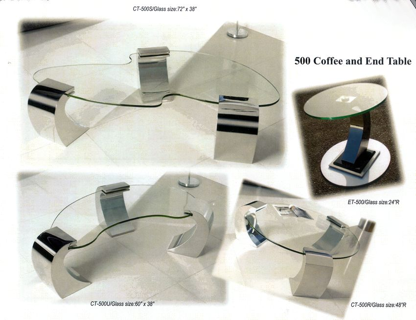 Modren Glass Top Tables