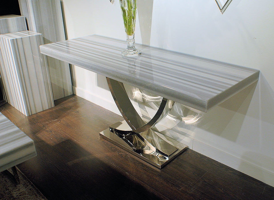 Luxury Stone Console Table