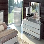 White Italian Bedroom Set