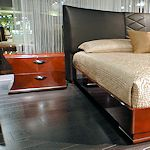 Italian Leather Bed
