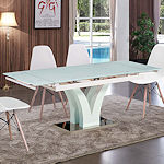 Contemporary Expandable Dining Table