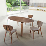 Contemporary Dining Table in Walnut