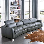 Contemporary Sectional Sleeper Recliner
