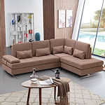 Contemporary Fabric Sectional