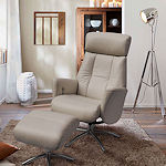 Luxury Recliner Leather Armchair