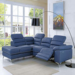 Recliner Leather Sectional