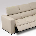 Contemporary Recliner Sofa