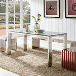 Modern Stainless Steel Tables